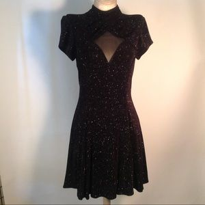 Betsy & Adam 40's vintage inspired sparkle dress